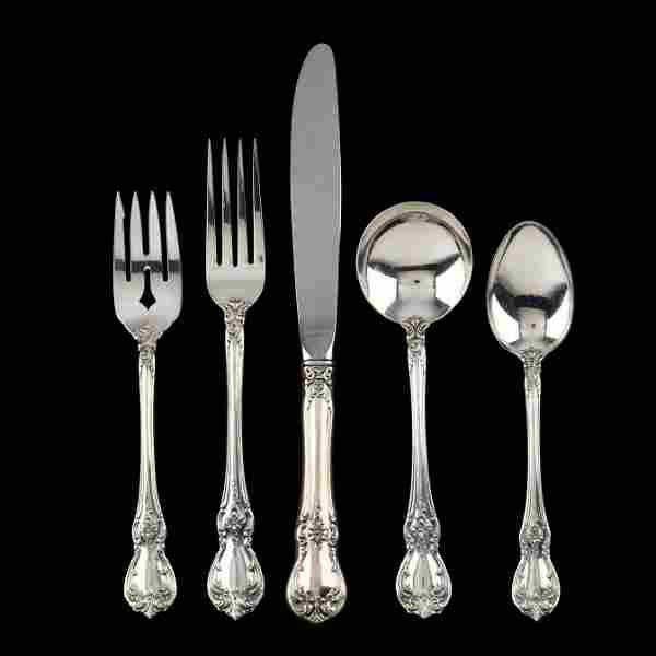 Towle Old Master Sterling Silver Flatware Service