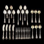 A Collection of American Art Nouveau Sterling Silver