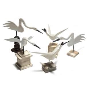 A Flock of Five Wayne Baker Shorebirds