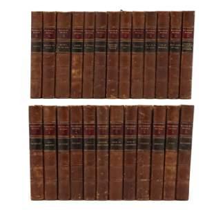 Victorian 25-Volume Set of Sir Walter Scott's Waverly