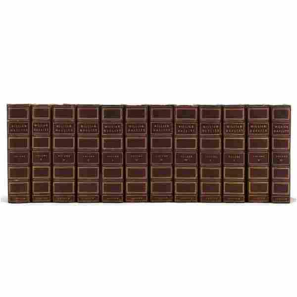 Hazlitt, William. The Collected Works in Twelve Volumes