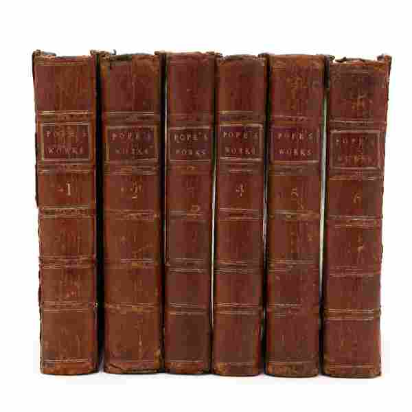 The Works of Alexander Pope, Esq. In Six Volumes
