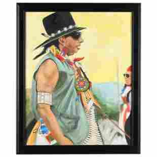 Nancy Gillespie (NC), American Indian in Profile