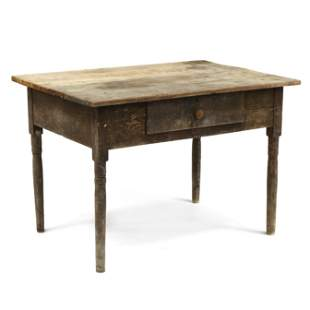 Southern One Drawer Work Table