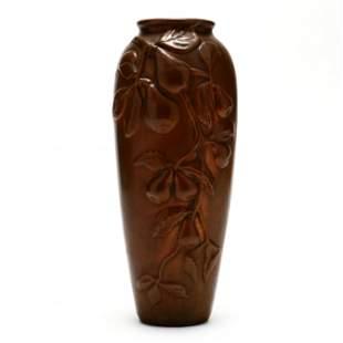 J. B. Owens / Clewell Copper Clad Vase