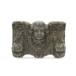 Architectural Cast Stone Wall Plaque