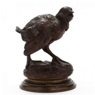 Ferdinand Pautrot (French, 1832-1874), Bronze Figure of