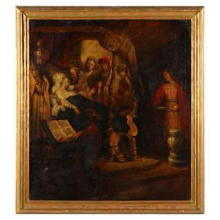after Rembrandt Van Rijn (1606-1669), The Death of the