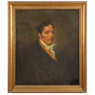 French School (early 19th century), Portrait of a Man