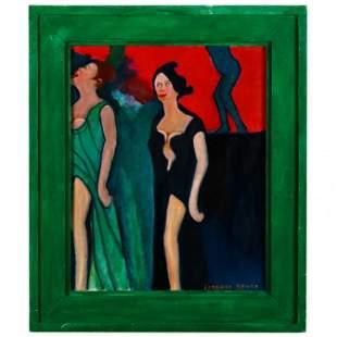 Lorenzo Scott (GA, born 1934), Two Women