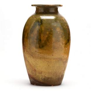 Transitional Floor Vase, (Randolph or Moore County, NC)