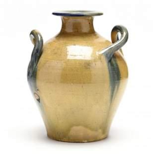 Twist Handle Vase, Attributed Floyd Hilton at C. R.
