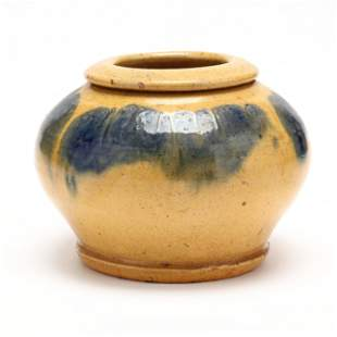 Rose Bowl, Attributed C. R. Auman Pottery, (NC)