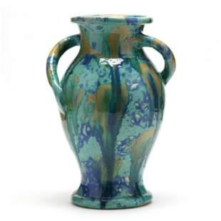 Multi-Colored Vase, Attributed C. C. Cole (1887-1967,