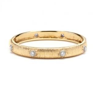 Bi-Color Gold and Diamond Bracelet