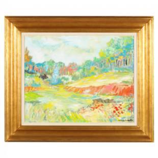Arthur Weeks (American, 1930-1988), Summer Landscape