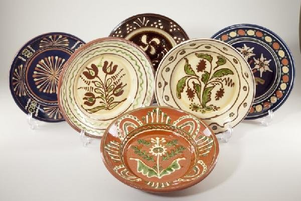 20: Group of Six Westmoore Pottery Chargers