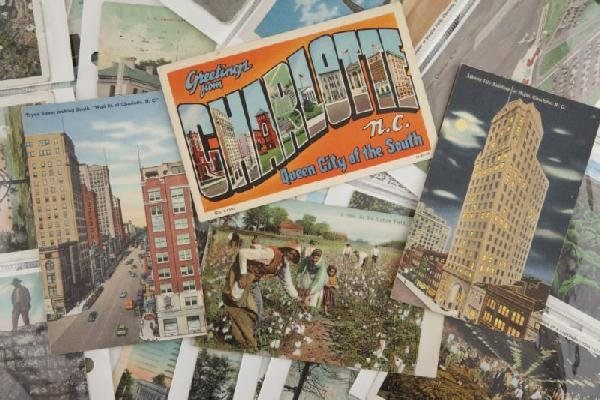 23: Collection of Vintage Southern Postcards