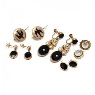 Group of Antique Earrings