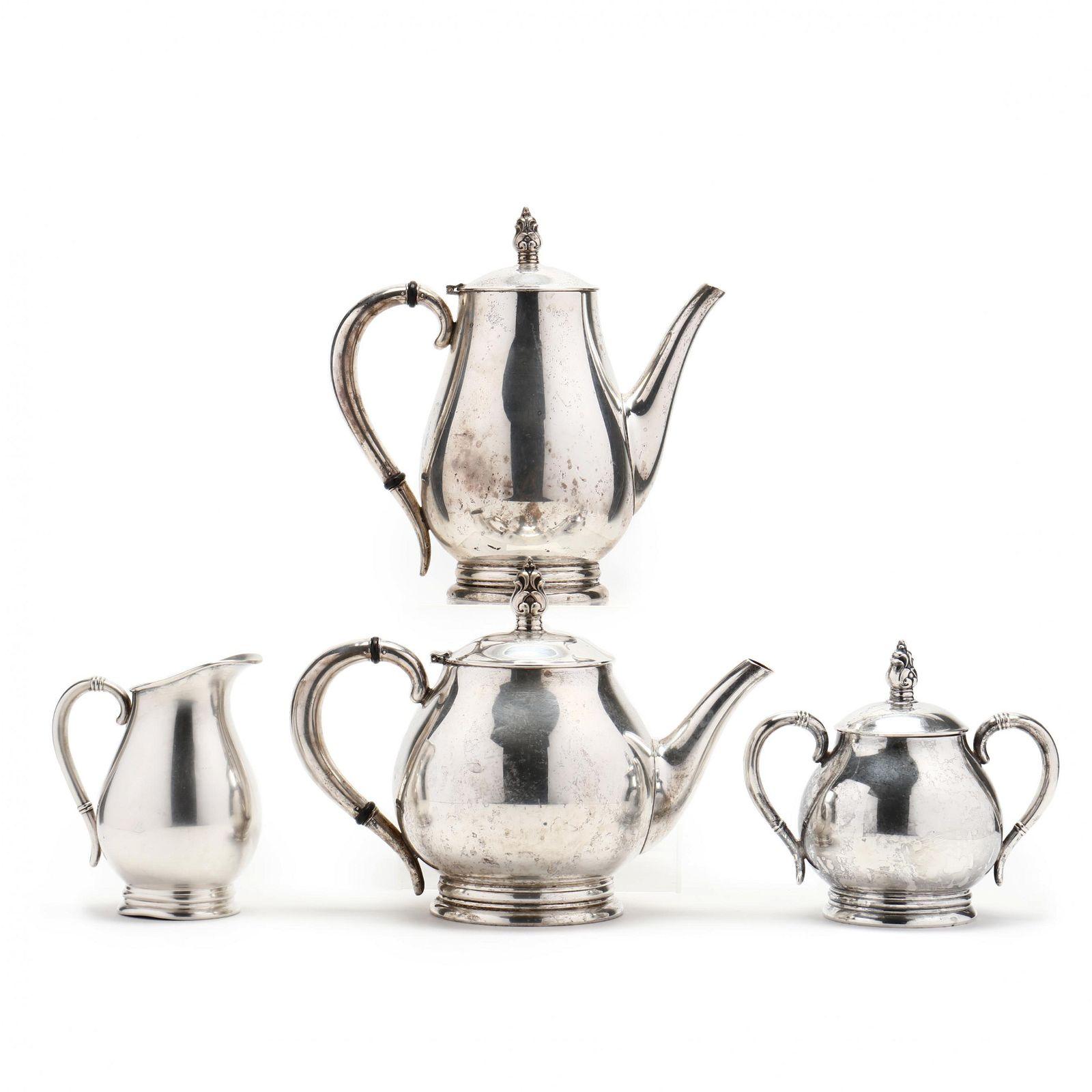 Four Piece International Royal Danish Sterling Silver