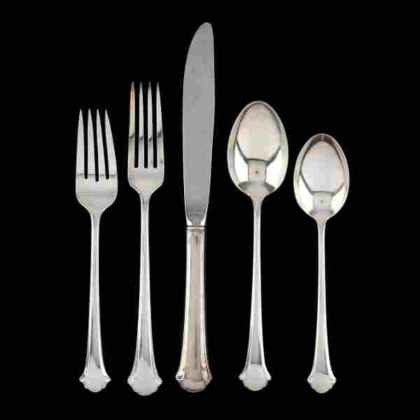 Towle Chippendale Sterling Silver Flatware Service