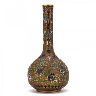 A Chinese Champlevé Vase