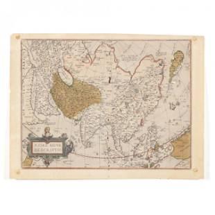 Ortelius, Abraham. Asia Nova Descrptio