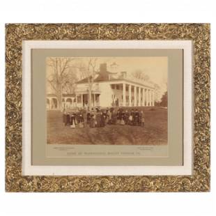 "Albumen Print by Luke C. Dillon, ""Photographer to Mount"