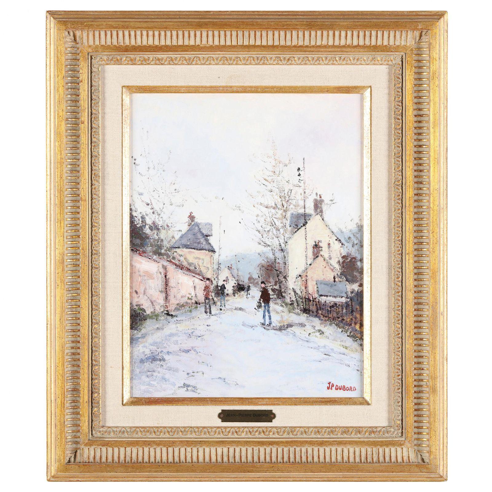 Jean-Pierre Dubord (French, born 1949), Winter Village