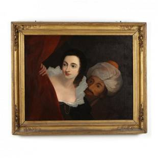 Continental School (19th century), Othello and