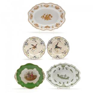 Antique French Faience Collection