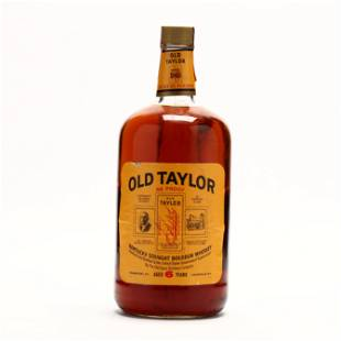 Old Taylor Bourbon Whiskey