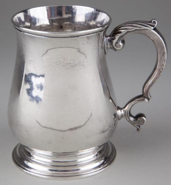 8: George III Sterling Silver Tankard