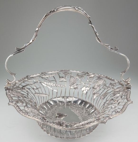 10: George III Sterling Basket by Vere & Lutwyche