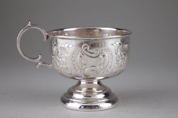 17: S. Kirk & Sons Sterling Punch Bowl and Ladle - 6
