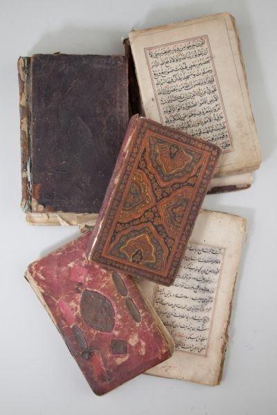 496: Five Illuminated Korans & Islamic Prayer Books
