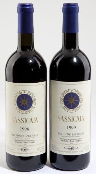 3020: 1999 & 1996 Sassicaia