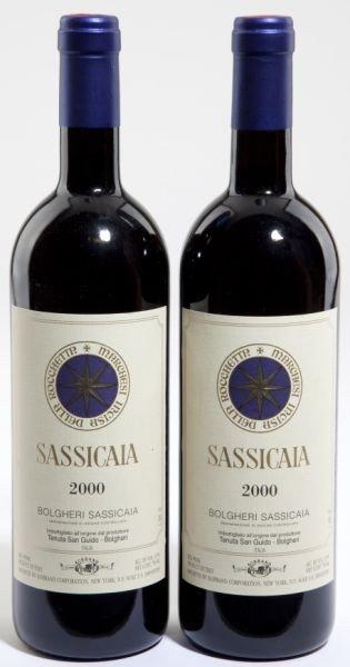 3022: Sassicaia - Vintage 2000