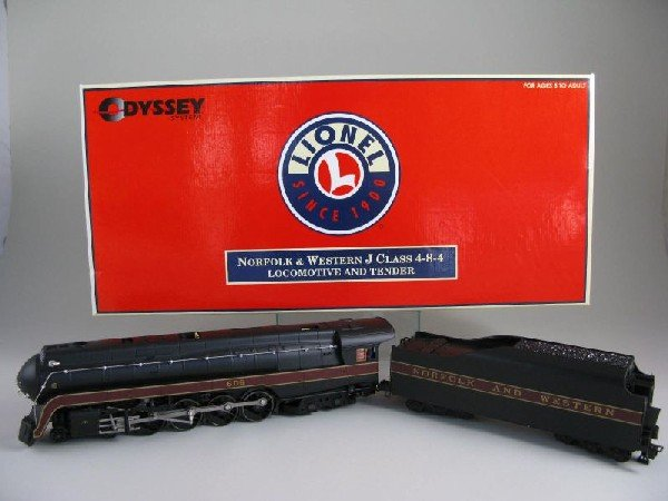 3: Lionel Norfolk & Western J Class 4-8-4 Locomotive