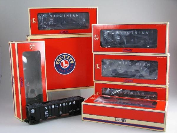7: Lionel 17140 Virginian Hopper Six Pack