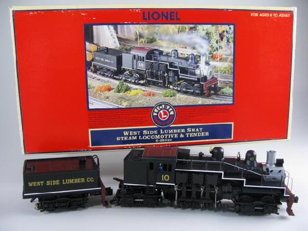 20: Lionel 28022 West Side Lumber Steam Locomotive