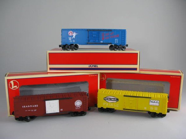 22: Lionel 29282 Archive 6464 boxcar 3-pack set