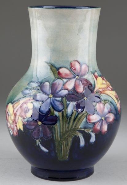 1: Moorcroft Anemone Vase