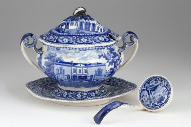 8: Historic Staffordshire Tureen of Southern Interest