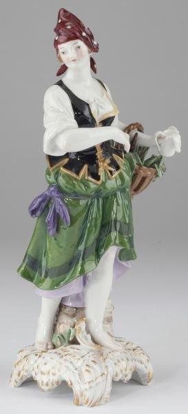 17: Porcelain Figurine Marked KPM