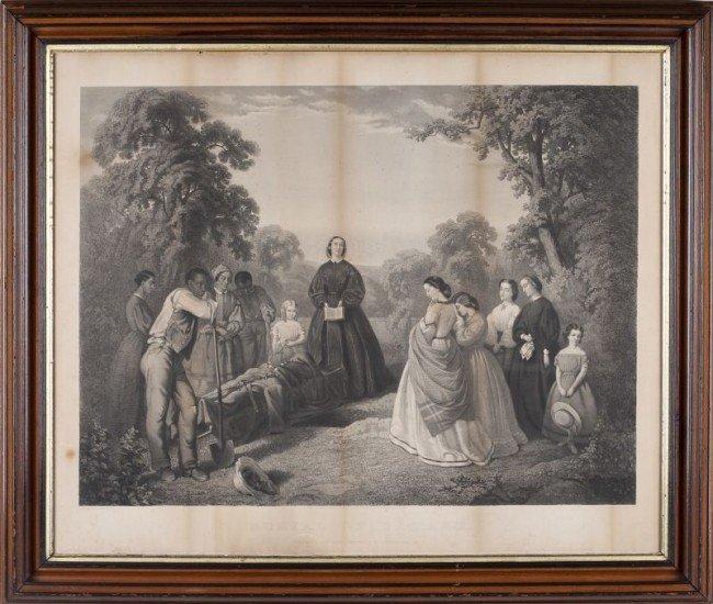 335: W. D. Washington, Burial of Latane, 1862