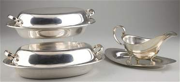482: Three American Sterling Silver Table Articles