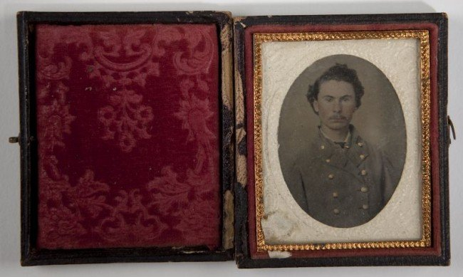 562: NC Confederate Officer's Archive With Images - 2