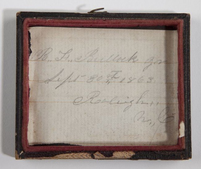 562: NC Confederate Officer's Archive With Images - 3