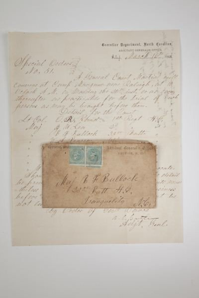 562: NC Confederate Officer's Archive With Images - 7